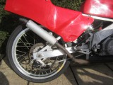 1987 Honda RS125 alloy frame spoked wheels