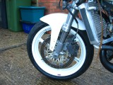 RS250 Honda Upside down forks