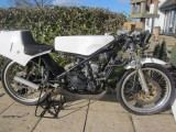 1986 Honda RS125 steel frame